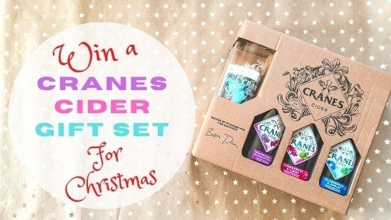 Christmas Giveaway: Win A Cranes Cider Gift Set