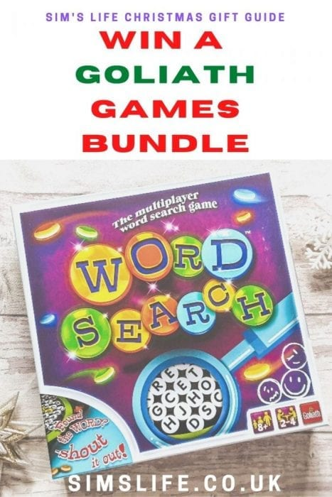 Win a Games Bundle from Goliath Games