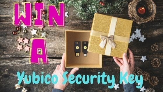 Christmas Giveaway – Win A Yubico Security Key NFC