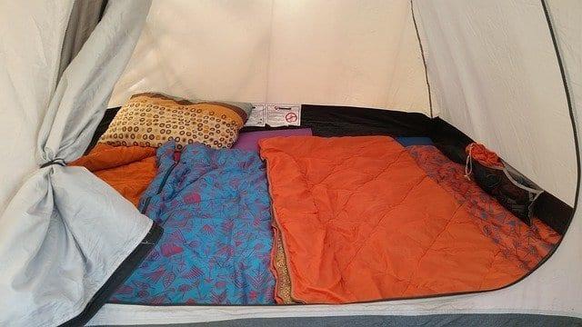 Make camping comfy