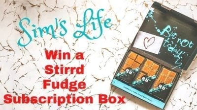 Win A Stirrd Fudge Subscription Box