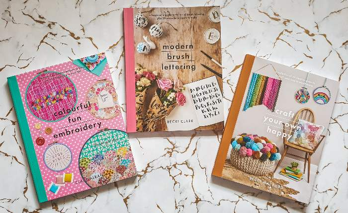 Win A Crafting Books Bundle – New Giveaway